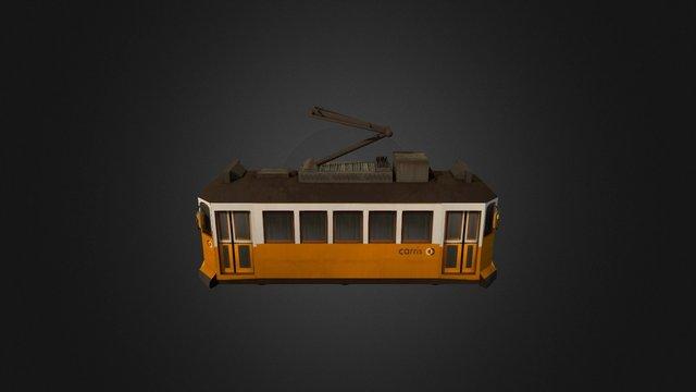 Prop_Tram 3D Model