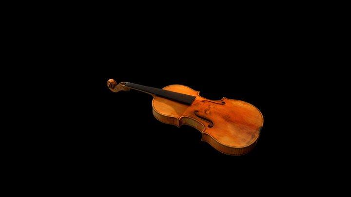 Violon Sarasate , Antonio Stradivari, 1724 3D Model