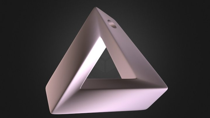 Impossible Triangle 3D Model