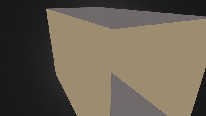 3d Szoba Sotet 3D Model