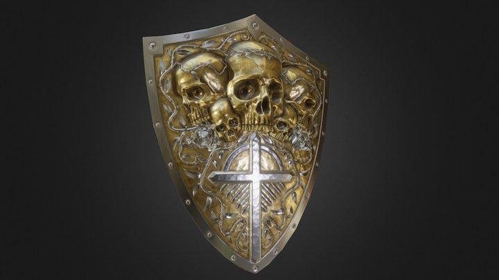 Skullshield 3D Model