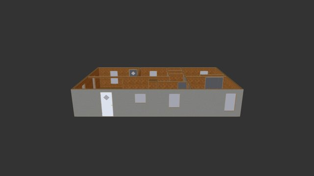 Raychel's House 3D Model