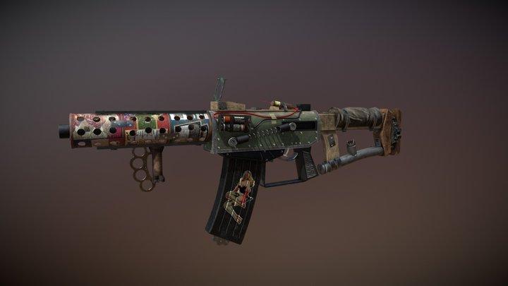 Junker Gun Variant Example 3D Model