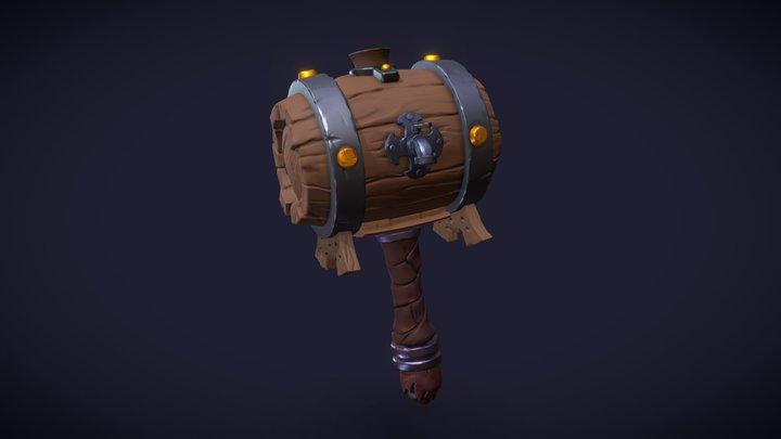 Barrel O' Beer 3D Model