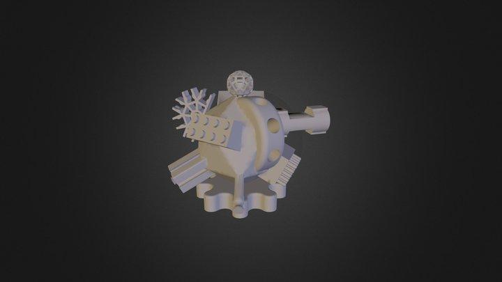 Universal Brick, Free Universal Construction Kit 3D Model