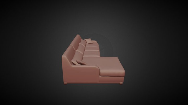 Couch 1 3D Model