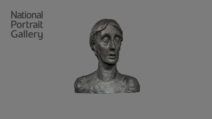NPG 3882 - Virginia Woolf 3D Model
