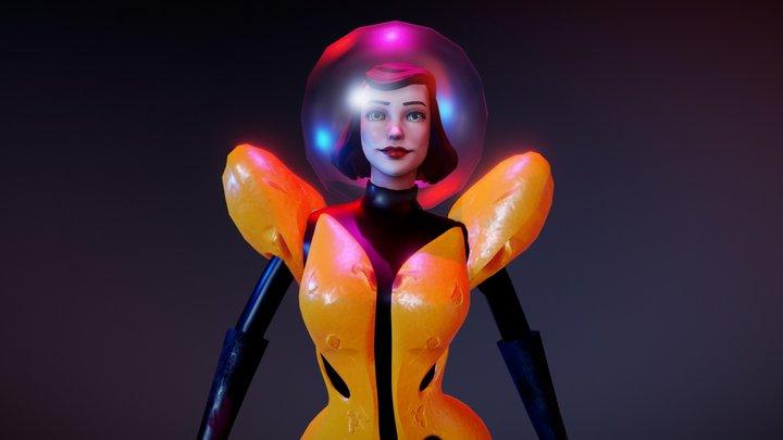 The Bee Bombshell 3D Model