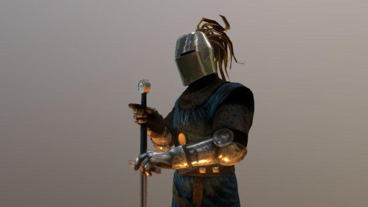Moonstone Knight: Sir Godber 3D Model