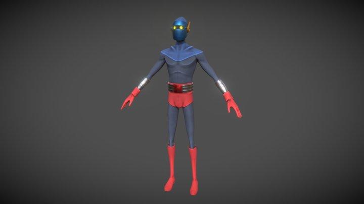 BlueMask 3D Model