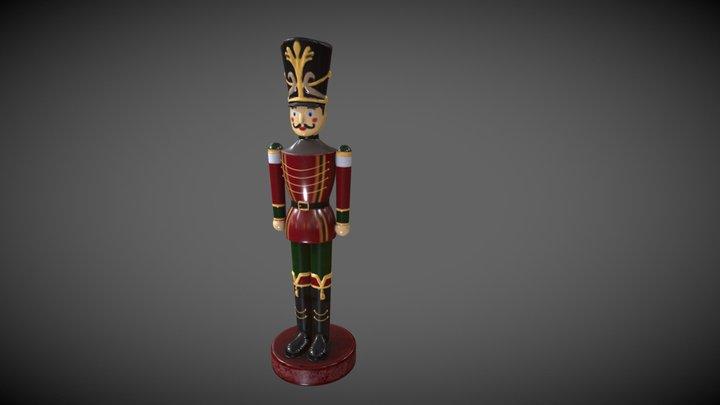 Nutcracker like (Presque casse noisettes) 3D Model