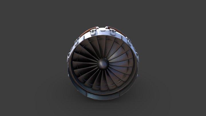 EngineFWN 3D Model
