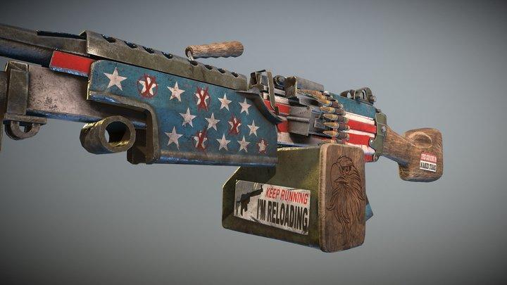 Independence M249 3D Model