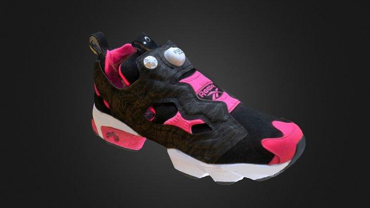 Reebok Insta Pump Furry x Crossover 3D Model
