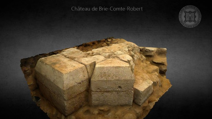 Eglise de Brie-Comte-Robert (France) 3D Model