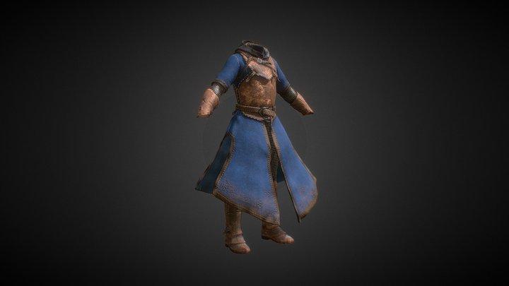 Old Armor (Tier_01) 3D Model