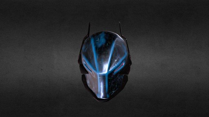 Arkham Knight Helmet 3D Model