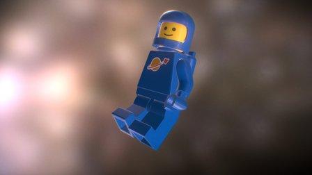 LEGO Space Guy 1980 3D Model