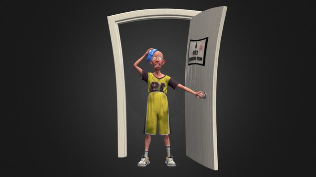 Exploring the Forbidden Door 3D Model