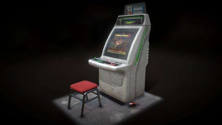 Astro City Arcade Machine 3D Model