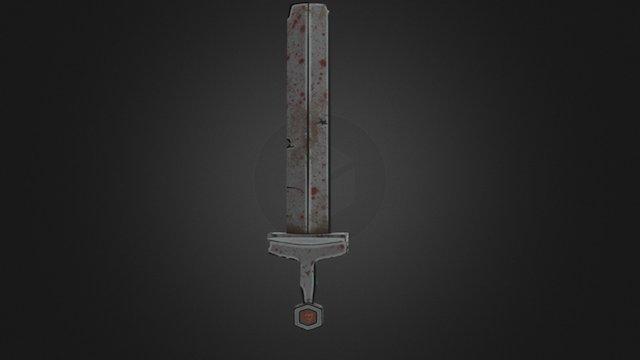 Toon Sword 3D Model