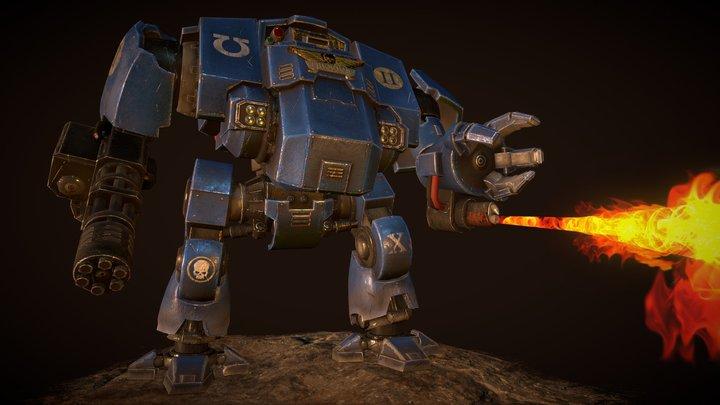 Primaris Redemptor Dreadnought 3D Model