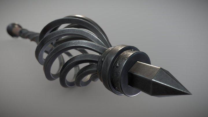 Bludgeon Mace 3D Model