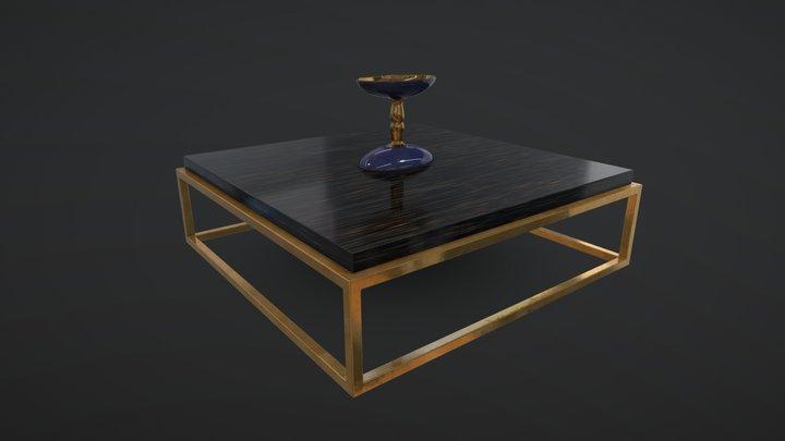 San Marco-B Coffee Table 3D Model