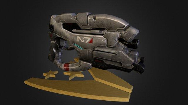 N7 Eagle ( Mass Effect 3 ) 3D Model