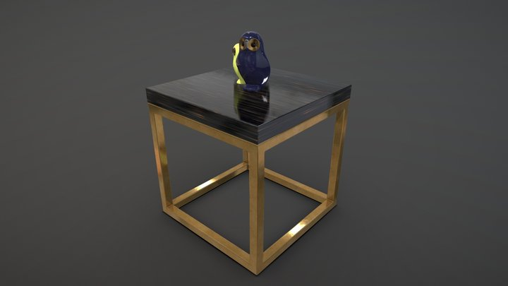 San Marco-A Coffee Table 3D Model