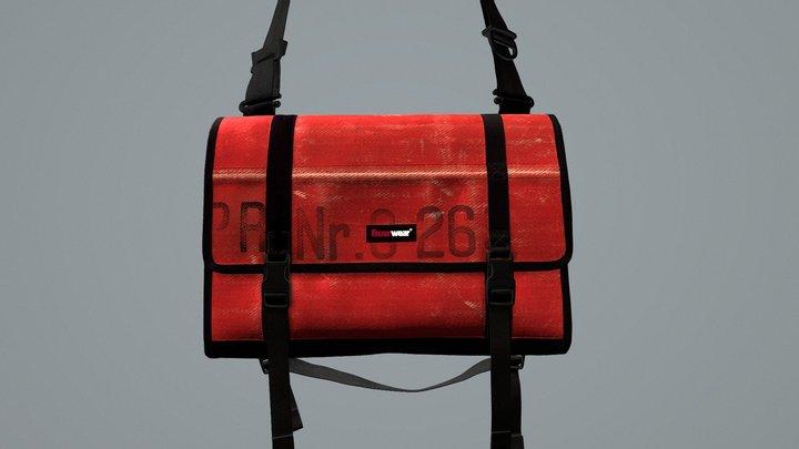 Feuerwear -- MessengerBag Gordon UK 3D Model