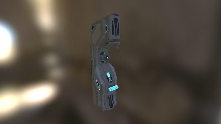 Halo 4 Terminal 3D Model