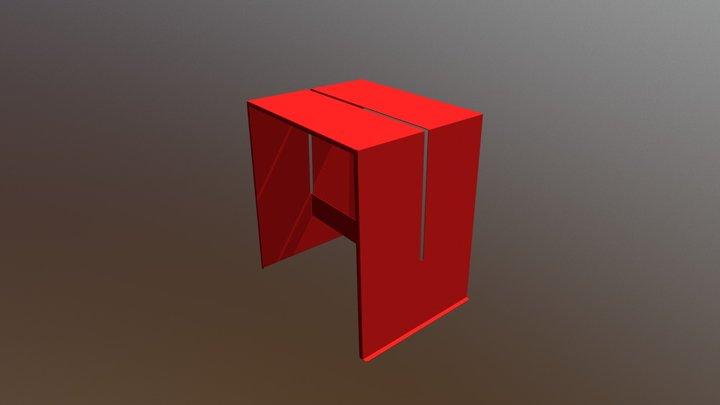 hannes stool 3D Model