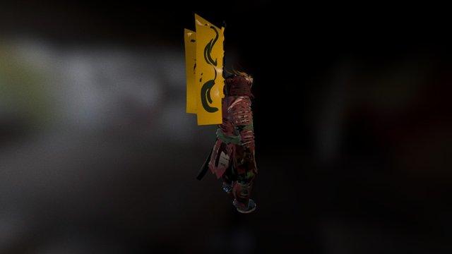Samurai created in Tilt Brush 3D Model