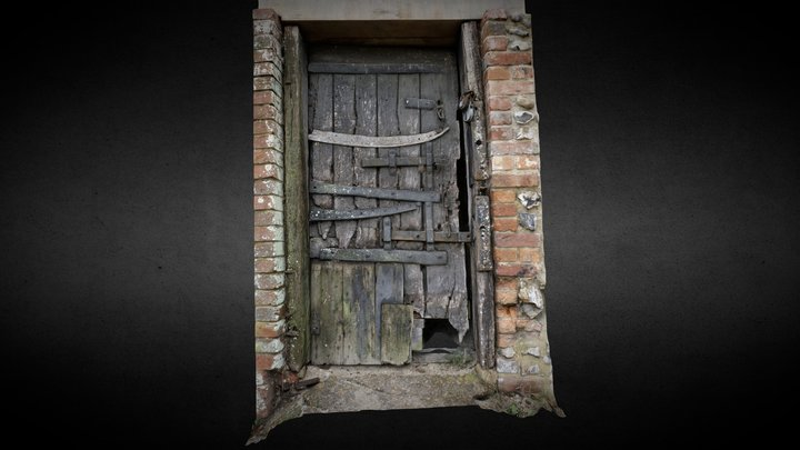 Poacher's Jail, Saddlescombe Farm 3D Model