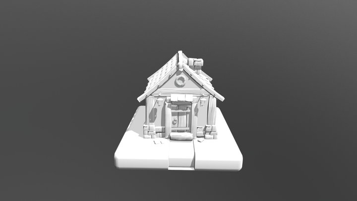 2DO PARCIAL MODELADO MODULADO 3D Model