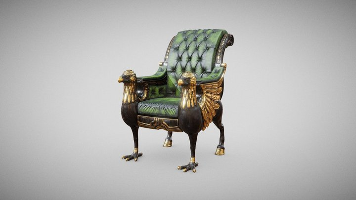 Hippogriffe Chair 3D Model