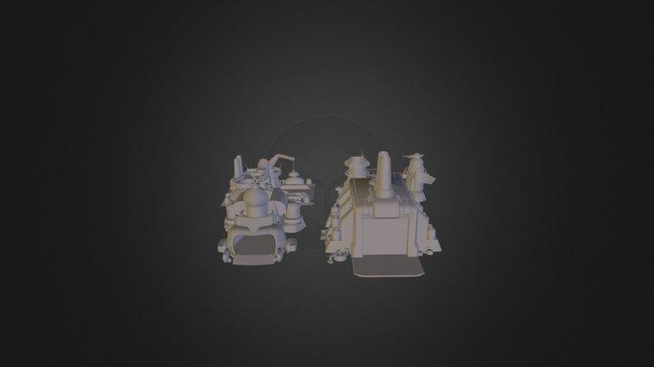 Combat Factory 3D Model