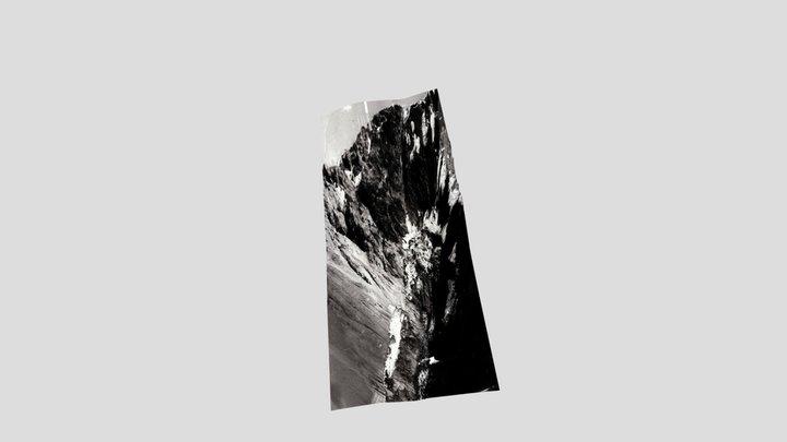 Aparejo Glacier, Chile, 1980 3D Model