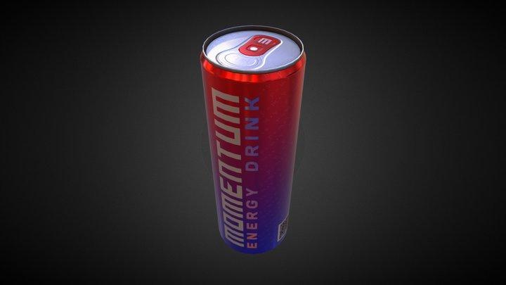 MOMENTUM (Energy Drink) 3D Model