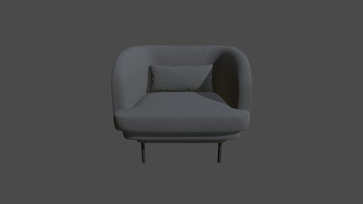 Mio Chair 3D Model