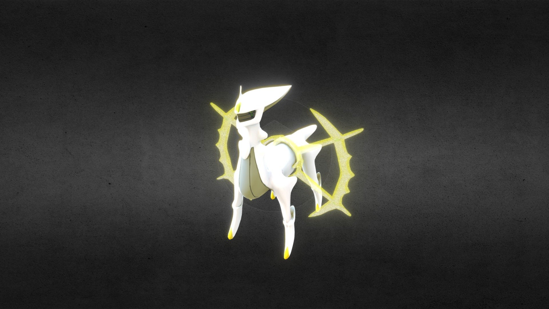 Arceus pokemon Download Free 3D model by phungthenam