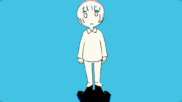 Yorushika - Say it 3D Model