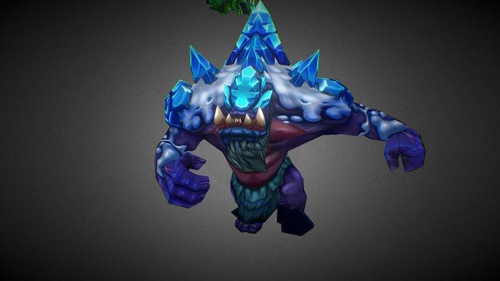 Ice Giant (Winions) 3D Model