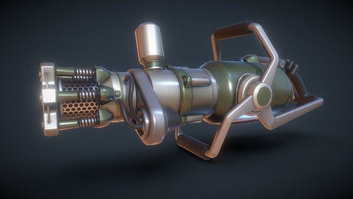 Antimatter Pulverizer 3D Model