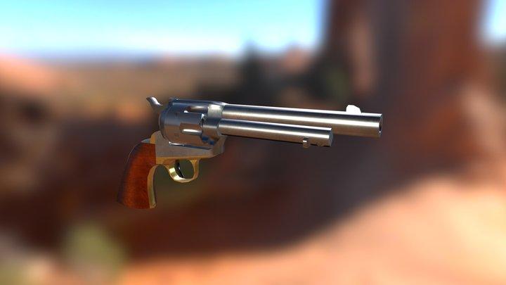 Colt SSA .45 Peacemaker 3D Model