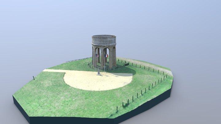 Château d'eau américain par Géosmartic 3D Model