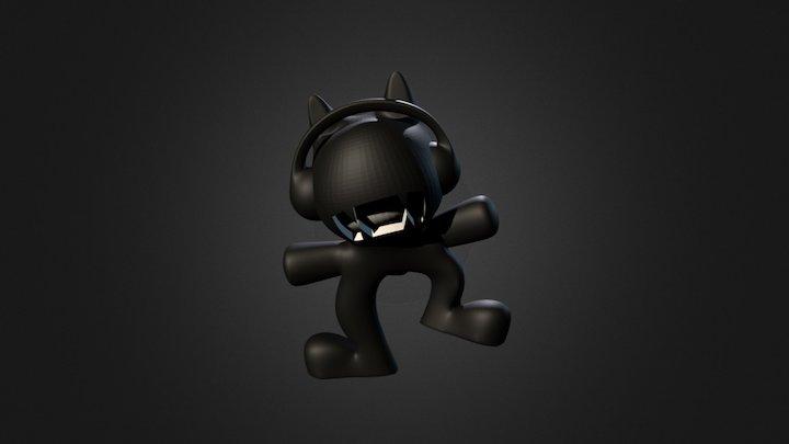 Monstercat (Wouter) 3D Model
