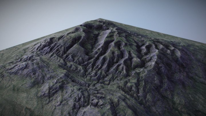 Brushify.io - Erosion 01 3D Model