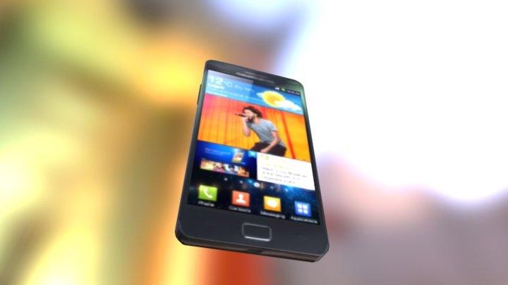 SAMSUNG Galaxy S II 3D Model